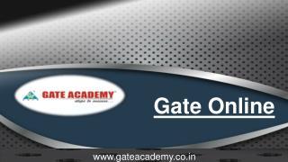 Gate Online