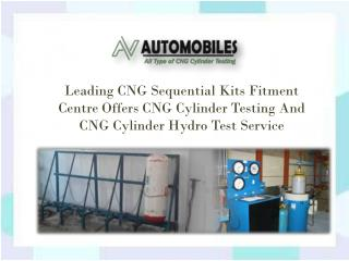 CNG Cylinder Testing Service In Delhi