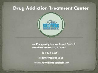 Florida Rehab Center - Treatment Programs For Drug Addiction