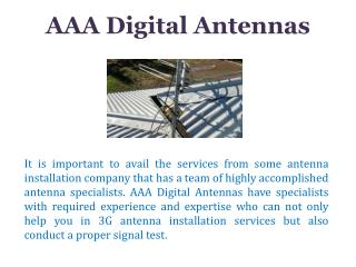 Best Quality Digital Antenna in Australia