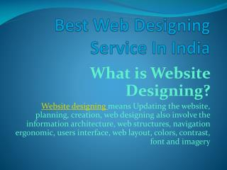 Best Website Design Company in India |Provide Professional Design Service