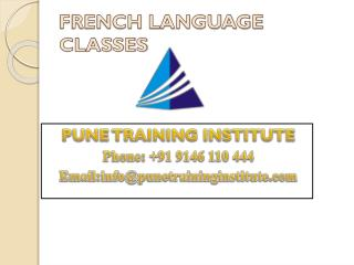 French Language Classes - Institutes in Pune  | Pune Training Institute