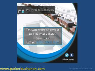 Get best property investment opportunity in London, Manchester, and Liverpool, UK