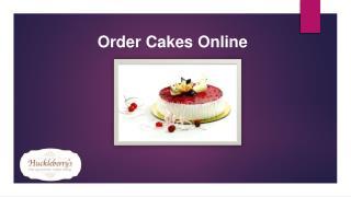 Huckleberrys Cakes