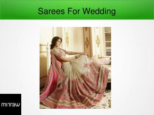 Wedding Sarees Trends For 2017