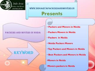 Packers in noida | Indo arya packers and movers