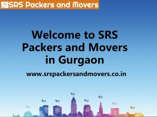 Packers in gurgaon | SRS packers and movers