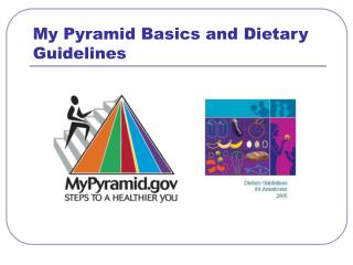 My Pyramid Basics and Dietary Guidelines