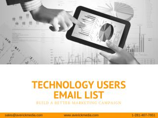 Technology Mailing Lists