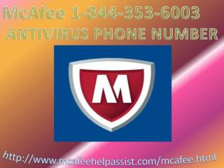 McAfee Customer Support Phone Number