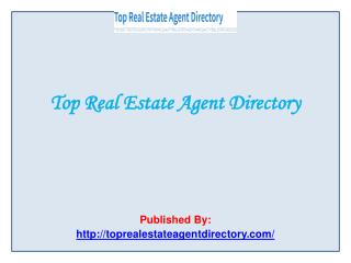 Top Real Estate Agent Directory