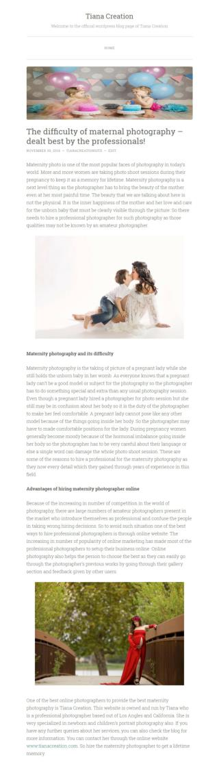 Maternity Photography And Its Difficulty
