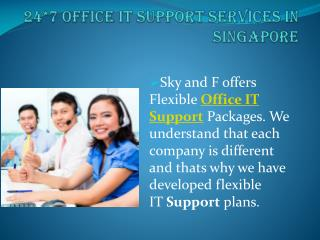 Office IT Support Services in Singapore