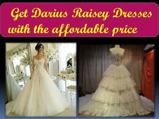 Get Darius Cordell Custom Dresses in Unique Designs