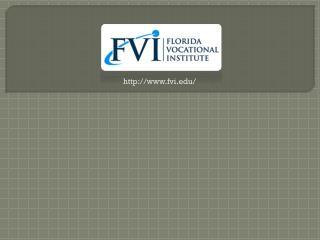 Medical Assistant School - Florida Vocational Institute