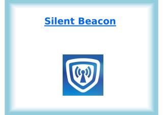 Silent Beacon - Emergency Alert ystem