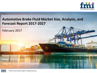 Automotive Brake Fluid Market 10-Year Market Forecast and Trends Analysis Research Report