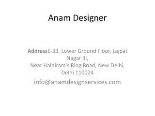 Anam Design Service