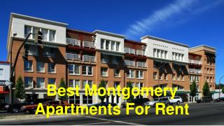 Grab Perfect Deals of Montgomery Apartments