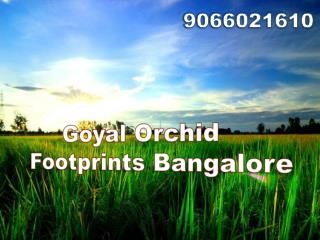 Goyal Orchid Footprints in Thanisandra Bangalore @call 9066021610