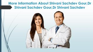 Surrogacy is as safe as normal pregnancy - Dr Shivani Sachdev Gour,Dr Shivani Sachdev, Dr Shivani Sachdev Gour Reviews