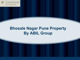 Bhosale Nagar Pune Property By ABIL Group