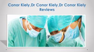 Top 10 Hairtransplant Doctor in UK - Dr Conor Kiely