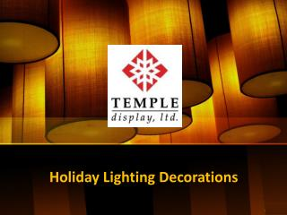 Festive Christmas Tree Decorations - Templedisplay
