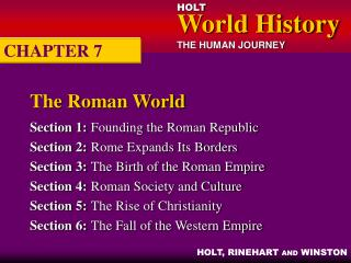 The Roman World