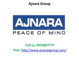 Ajnara Group commercial and residential projects