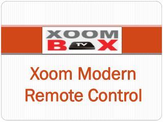 Xoom Modern Remote Control