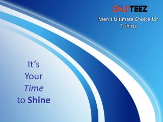 Men's Ultimate Choice for T-shirts