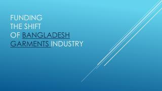 Bangladesh RMG
