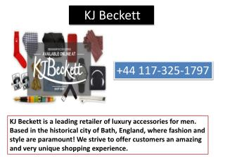 Kj Beckett Is Offering The Perfect Accessories For The Men And Women