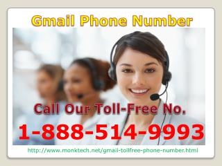 Blocked spamming mails in seconds just call on 1-888-514-9993 Gmail Phone Number