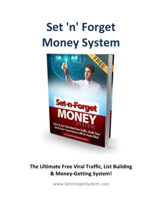 Set N Forget Money System