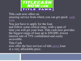 Title Cash Now offers Spectacular Amount for Boat Loan