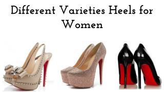 Different Varieties Heels For Women