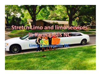 Stretch Limo and limo services in Kannapolis NC