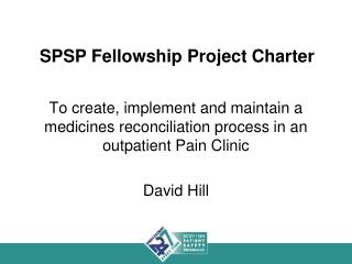 SPSP Fellowship Project Charter