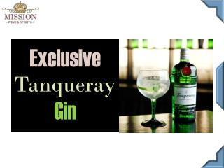 Tanqueray Gin online - Mission Wine & Spirits