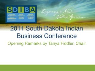 2011 South Dakota Indian Business Conference