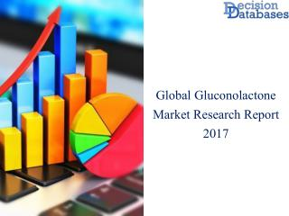 Gluconolactone Market: Industry Manufacturers Analysis and Forecasts 2017