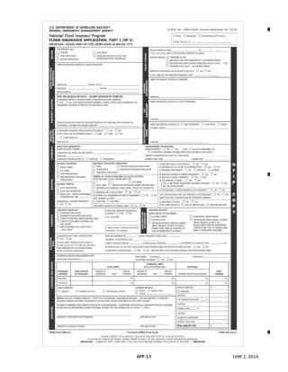 Flood Insurance Application - Optommetry Malpractice Insurance