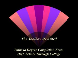The Toolbox Revisited