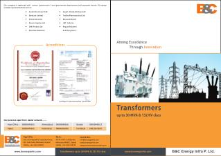 Industrial Transformers, transformers manufacturer in india