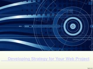 Developing Strategy for Your Web Project