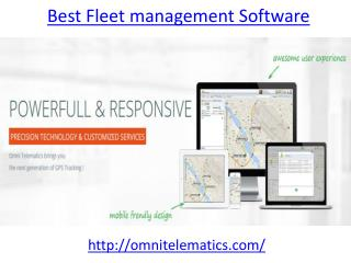 Get the best Best Fleet management Software in UAE