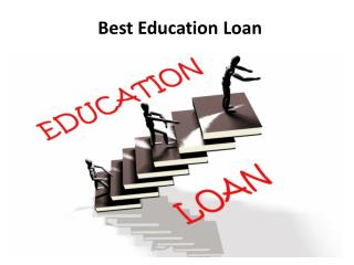 How to compare best education loan options