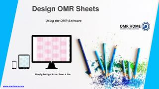 How to Design OMR Sheet Using OMR Software